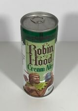 ROBIN HOOD CREAM ALE BEER 16 OZ METAL CAN PULL TAB TOP VINTAGE 1970s BO EMPTY