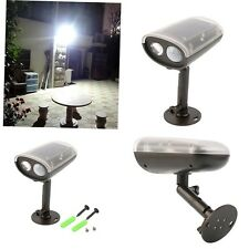 3W LED Light-control Solar PIR Motion Sensor Outdoor Spot Floodlight Security DQ