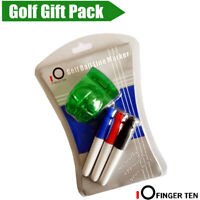 Golf Ball Liner Drawer Marker Line Alignment Tool With 3 Color Pens Blue US