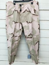 NEW USGI ECWCS GORE-TEX COLD WEATHER DESERT CAMOUFLAGE PANTS - LARGE LONG
