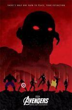 New Avengers Ultron Art Posters