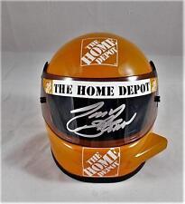TONY STEWART SIGNED MINI HELMET NASCAR INDY 500 AUTOGRAPHED COA J2