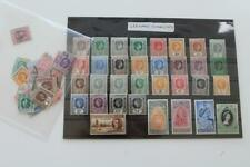 LEEWARD ISLANDS MINT and Used KGVI to QEII Definitve Collection of stamps
