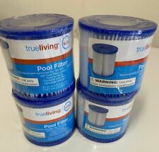 New listing True Living Cartridges Replacement Pool & Hot Tub Filters - Lot of 4 - 110 120v