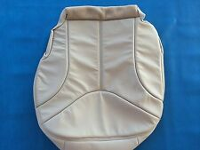 "2000-2002 YUKON, SIERRA LEATHER DRIVER SEAT COVER-SHALE ""CREAM"" #522"