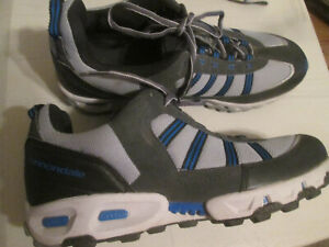 Cannondale Cycling Shoes Size 12 Mens  Gray & Blue