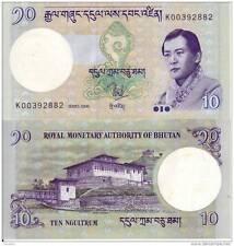 BHUTAN 10 NGULTRUM 2006 FDS UNC