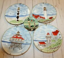 New ListingLighthouse Collector Plates x 4 w/ Hooks + 1 Mini