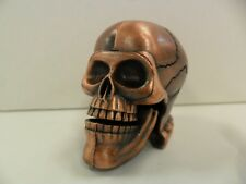 Antique Finished Skull Pencil Sharpener - New In Box -