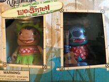 NIB Disney Vinylmation Lilo & Stitch Set Hawaii Exclusive