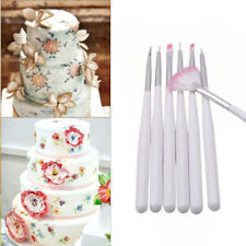 Mold Decal Icing Pastry Cake Decorating Sugarcraft Tool Cupcake Paint Pen Brush