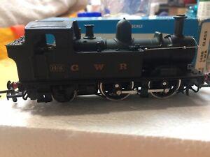 "Airfix Railway System 54152 -7 0-4-2 1400 Class ""1466"" Tank G.W.R. Green  Livery"