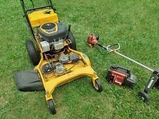 Done with gas! Cub Cadet Mower, Shindawa trimmer, and Honda generator