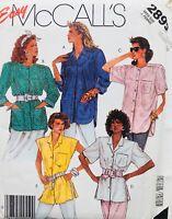 Vintage 1980's BLOUSE COLLECTION Sewing Pattern ~ SIZE 14-16 - UNCUT