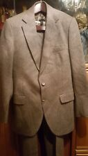 VINTAGE ALEXANDRE MILIUM WOOL/TWEED INSULATED LINING SAUNDER MEN SUIT PANEL BACK