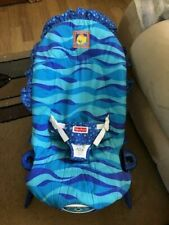 FISHER PRICE ~ Aquarium Bouncer Seat Pad (Fabric) COMPLETE