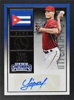 2015 Panini Contenders International Ticket Autographs #29 Yoan Lopez Auto