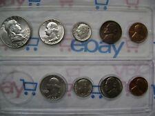 US 1955 P & D 9 Coin Set RPM
