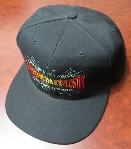 MICHAEL CARBAJAL vs HUMBERTO GONZALEZ 2/19/1994 SNAP BACK HAT New NEVER WORN Cap