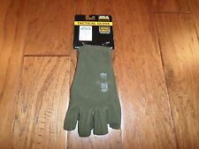 Half Finger Polar Fleece Gloves Tactical Shooters Rapdom Cold Weather OD GREEN