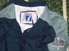 VTG 1990's LOGO7 Dallas Cowboys Football Nylon Track Wind Running Pants Size XL