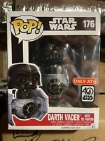Funko POP! Star Wars: Darth Vader with Tie Fighter #176 Target Exclusive 40th