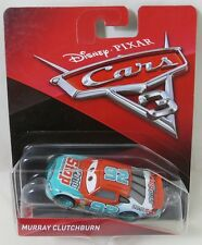 NEW Disney Pixar Cars 3  Movie MURRAY CLUTCHBURN diecast