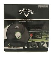 Callaway Golf Chip-Shot Chipping Net 3 in 1 Extremely Light and Portable. New!