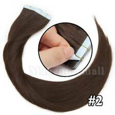 100% Indian Remy Human Hair Tape in Extensions Black Brown Blonde 20/40/60pcs