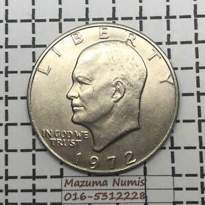 Mazuma *FC52 United State 1972 $1 One Dollar AUNC Only