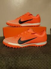 Nike Mercurial Vapor 12 Pro TF - UK Size 10.5 - AH7388 810 - Orange/Black