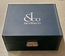 New Other Jacob & CO Watch Box missing insert