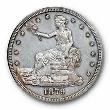 1879 T$1 Trade Dollar PCGS PR 53 Proof Only Issue Key Date OGH