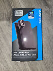 Apexel Dual Lens Kit w/Case for Apple iPhone X / XS IPX-FT03 Black NEW
