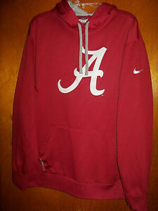 Nike Therma-Fit Alabama Crimson Tide Football Gym Hoodie Sweatshirt Size XL