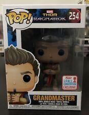 Funko Pop! Thor Ragnarok - Grandmaster #254 (NYCC 2017) + Protector