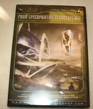 FROM SPEEDPAINTING TO CONCEPT ART DVD, David Levy, Gnomon Wkshop, Fact. Sealed