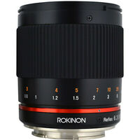 Rokinon Reflex 300mm f/6.3 ED UMC CS Lens for Micro Four Thirds Mount (Black)