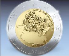 """Malta 2 Euro 2013 Gedenkmünze (Sondermünze)  """"Self- Government 1921"""" mit MZZ"""