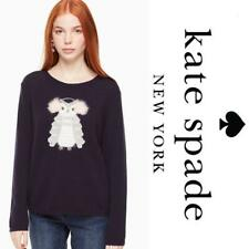 Kate Spade Owl Wool Sweater in Navy NWT $298