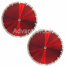 "2PK 14"" Diamond Saw Blade for  Block Concrete Paver Brick Refractory Brick -15MM"