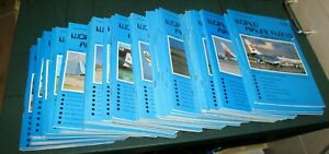 WORLD AIRLINE FLEETS MONTHLY MAGAZINE ISSUES 1 TO 53 INCLUSIVE 1977-1982