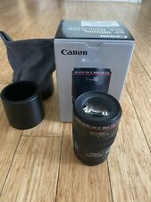 Canon EF 100mm F/2.8L Macro IS USM Lens. Mint Condition. Open Box.