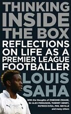 SIGNED - Louis Saha Autobiography - Thinking Inside the Box - Football book