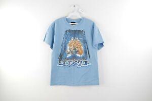 2000 DRAGON BALL Z Season 5 Distressed Vintage T Shirt  Size Youth Large