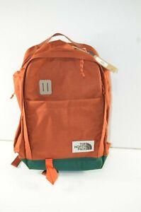 MSRP 89 New The North Face Ruthsac Backpack Daypack 31L Orange- Burnt Red