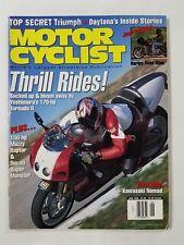 Motor Cyclist June 1988 Yoshimura's Tornado II - Kawasaki Nomad - Ducati Monster
