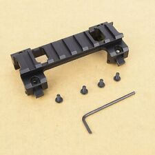 20MM Long Scope Higher Base Mount Rail Adapter for MP5 Airsoft Scope Gun~