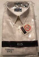 Men's White Long Sleeved Button Up Dress Shirt 16 1/2 NEW WITH TAGS