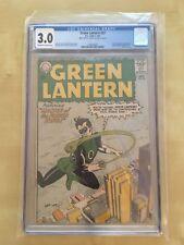 Green Lantern #22 (1963) CGC 3.0 Signed by (Late GL Creator) MART NODELL RARE!